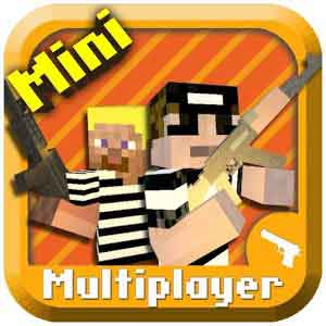 Cops N Robbers Mine game – Minecraft Style Pixel Shooter 1.9 скачать на андроид
